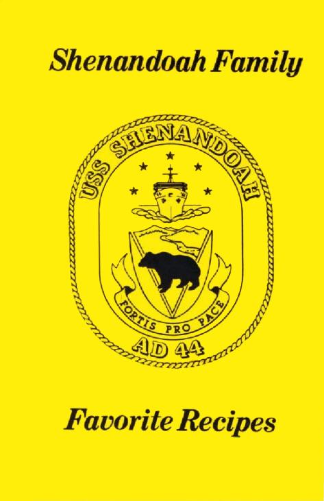 Shenandoah Family Cookbook