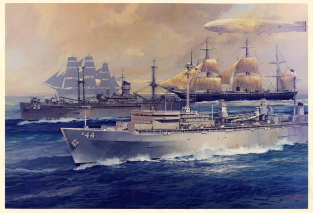Ships Named Shenandoah