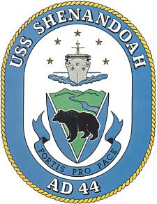 USS Shenandoah AD-44 Seal