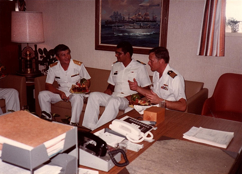 The Captain's Office